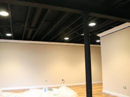 unfinished basement lighting ideas. Full Size Of Ceiling:unfinished Basement Lighting Ideas Finish On A Budget Large Unfinished M