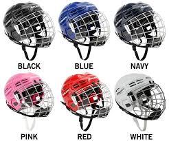 Bauer Ims 5 0 Hockey Helmet Combo
