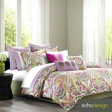 echo bedding give your bedroom a whimsical look with this lovely design vineyard paisley four piece