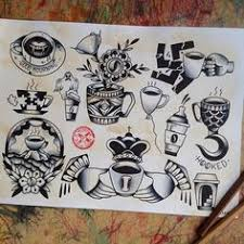 coffee tattoo flash. Contemporary Tattoo The Foot Tattoos Hurt A Good Deal Thing That Actually Attracted Me To  Tattooing Is Itu0027s Artwork For Everybody He States This Sun Tattoo Reseu2026 For Coffee Tattoo Flash E