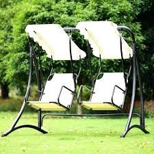patio glider swing 2 person hammock porch swing patio outdoor hanging canopy glider swing outdoor furniture
