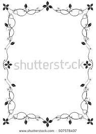 simple frame border design. Delighful Border Border Design Black And White Simple Frame Spiral    Throughout Simple Frame Border Design R