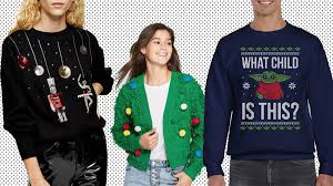Light Up Christmas Sweater Kids Ugly Christmas Sweater Ideas 20 Picks From Amazon