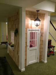 Under The Stairs Clubhouse For The Kidslove The Couch Idea - Finished basement kids