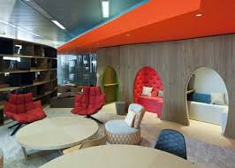 google office furniture. Google\u0027s New London HQ Surprises With Wool, Tweed, And Rocking Chairs - Architizer Google Office Furniture F