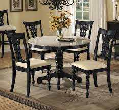black granite table and chairs not glass dining room excellent decoration using sheraton chair legs including