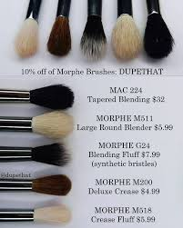here s another handful of similar brushes these morphe brushes are all pretty similar in shape