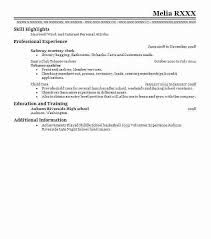 Kroger Resume Examples Courtesy Clerk Resume Retail Store Clerk Resume Sample Cashier