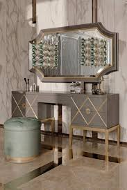 the art deco inspired italian designer 5 drawer dressing table at throughout art deco dressing table