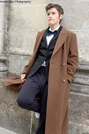 tenth doctor in a tux cosplay take 2
