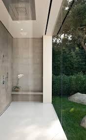 Love The Sleek Bathroom In This Minimalist Home The Rains Shower Impressive Bathroom Remodel Las Vegas Minimalist