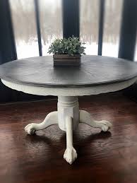Vintage Wooden Accent Table Rustic Entryway Table Farmhouse Table