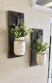 mason jar wall plaque diy project