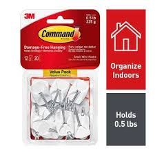 small wire hooks 12 pack