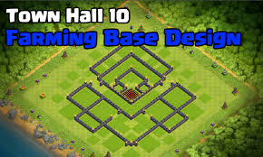 The Best Base Design For Clash Of Clans Best Town Hall 10 Farming Base Design For 2017 Stronghold