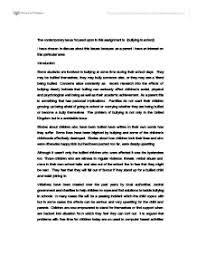 essay on bullying in schools co essay