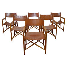safari style furniture. Set Of Six Safari Dining Chairs In The Style Mogens Koch Denmark 1960s For Sale At 1stdibs Furniture R