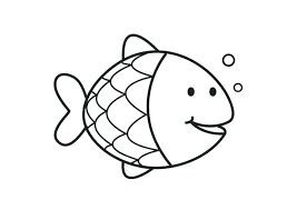 fish coloring pages printable fish template free printable doents free rainbow