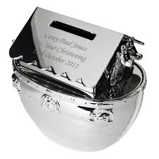 personalised noah s ark money box