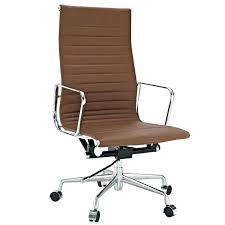 brown office chair brown leather office chair furniture brown leather office chairs connected by backrest