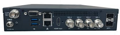 HE4000 Contribution HEVC Single 4K UHD and Quad HD Video Encoder