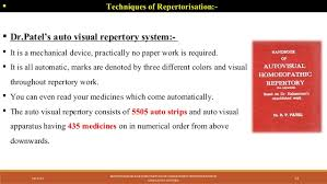 Homeopathy Repertory Chart Repertorisation Different Method Of Homoeopathic