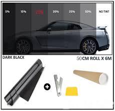 Car Window Tint Film Kit 35 Light Smoke Details About Dark Smoke Car Window Tint 25 50cm X 6m Film Tinting