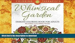Small Picture FREE DOWNLOAD The Time Garden Week at a Glance Coloring Diary