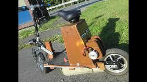 electric diy homemade scooter 24v lifepo4