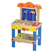 lelin toys wooden workbench