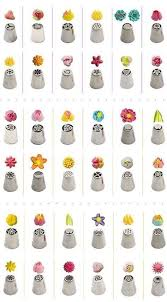 Icing Nozzle Chart Image Result For Cake Russian Piping Tip Chart Cake