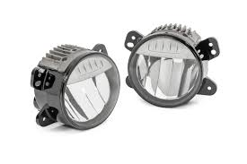 Mopar Fog Lights Jeep Wrangler Mopar Led Fog Lamps For 18 20 Jeep Wrangler Jl Gladiator Jt
