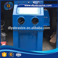 9070 Wet Sand Blast Cabinet / Sandblasting Machine / Water Used ...