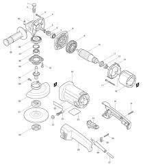 makita angle grinder parts. click for bigger diagram makita angle grinder parts