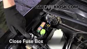 blown fuse check 1999 2005 mazda miata 2005 mazda miata ls 1 8l 1999 Miata Fuse Box Diagram 6 replace cover secure the cover and test component 92 Miata Fuse Box Diagram