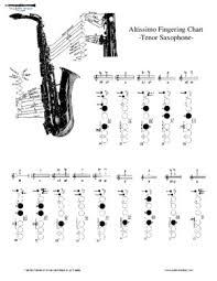 Altissimo Clarinet Chart Clarinet Institute Altissimo Fingering Chart Alto