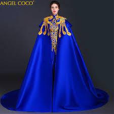 2 pieces Removable Royal <b>Robe De Soiree Longue</b> 2019 Evening ...