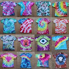 Tie Dye Shirts Patterns