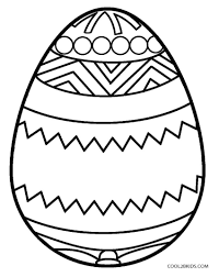 Printable Easter Egg Coloring Pages For Kids Cool2bkids Throughout 5