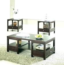 coffee and end table sets 3 piece set t info pertaining to inexpensive tables best