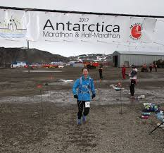 Dr Jo Sims - a marathon on all seven continents!