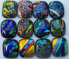 i will mail you a beautiful fused glass pendant