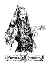 Small Picture Pirates of the caribbean Movies Coloring pages for adults