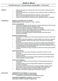 Executive Resume Example Sample Resume Example 1 Executive Resume Or