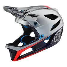 Troy Lee Design Details About Troy Lee Designs Stage Mips Helmet Race Sil Nvy Md Lg