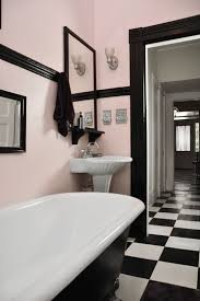 Stylish & Sexy Bathrooms. Light Pink WallsBlack ...