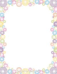 Small Picture Rainbow Page Borders