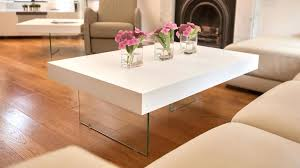 collection of solutions white clad furniture coffee table