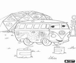 De Hippie Bestelwagen Volkswagen Transporter De Naam Fillmore
