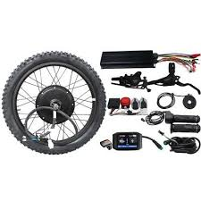 RisunMotor 36V <b>48V 60V 72V 3000W</b> eBike Motor Wheel Kits with ...